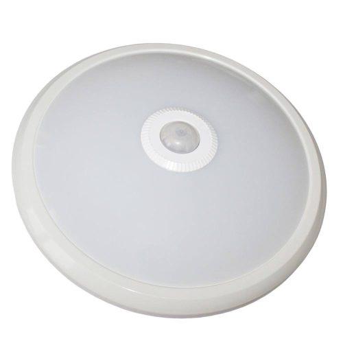 Mennyezeti lámpa LED + Mozgásérzékelő 12W