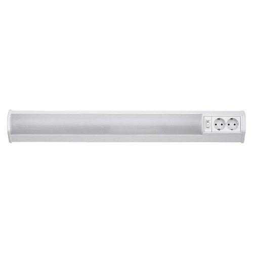 Fürdőszoba lámpa dugalljal és kapcsolóval