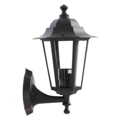Kültéri lámpa DUNA 1xE27 fekete