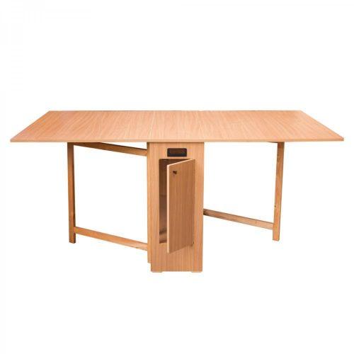 Összecsukható asztal 180x92x80cm Natur 1C